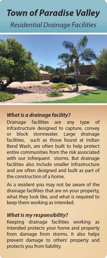 Residential Drainage Facilities Brochure 1
