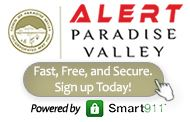 Alert Paradise Valley Alert PV Website Button 2